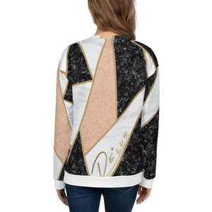 "Womens All Over Sweatshirt ""Lux Tile"""
