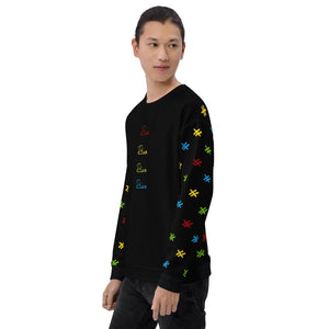 "Mens All Over Sweatshirt ""Video Game"""