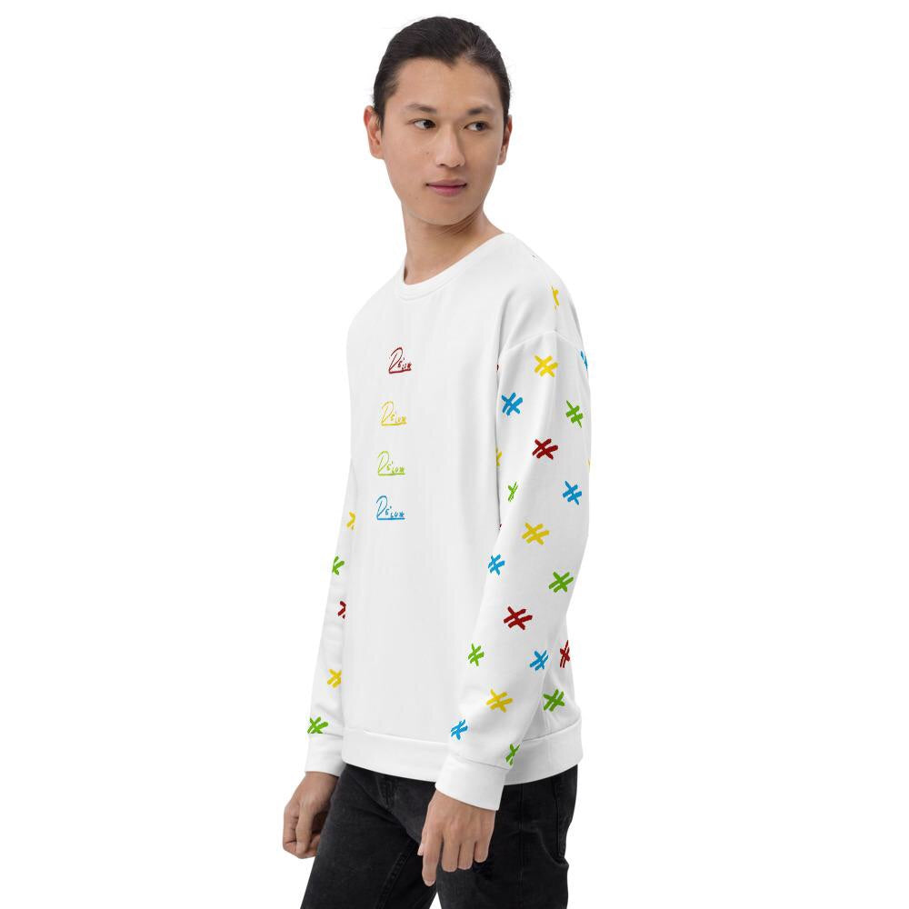 "Mens All Over Sweatshirt ""Video Game 2"""