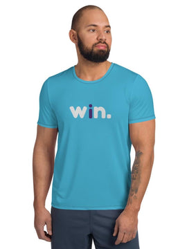 "Mens ""i win."" Compression Tee"