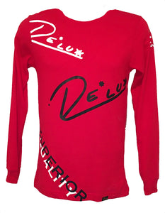 "LABELS Long Sleeve ""Bright Red"""