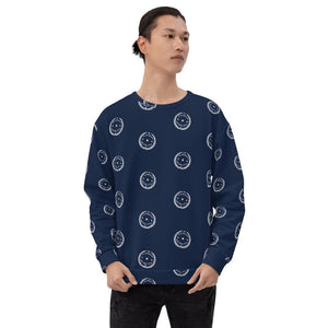 All Over Emblem Sweatshirt