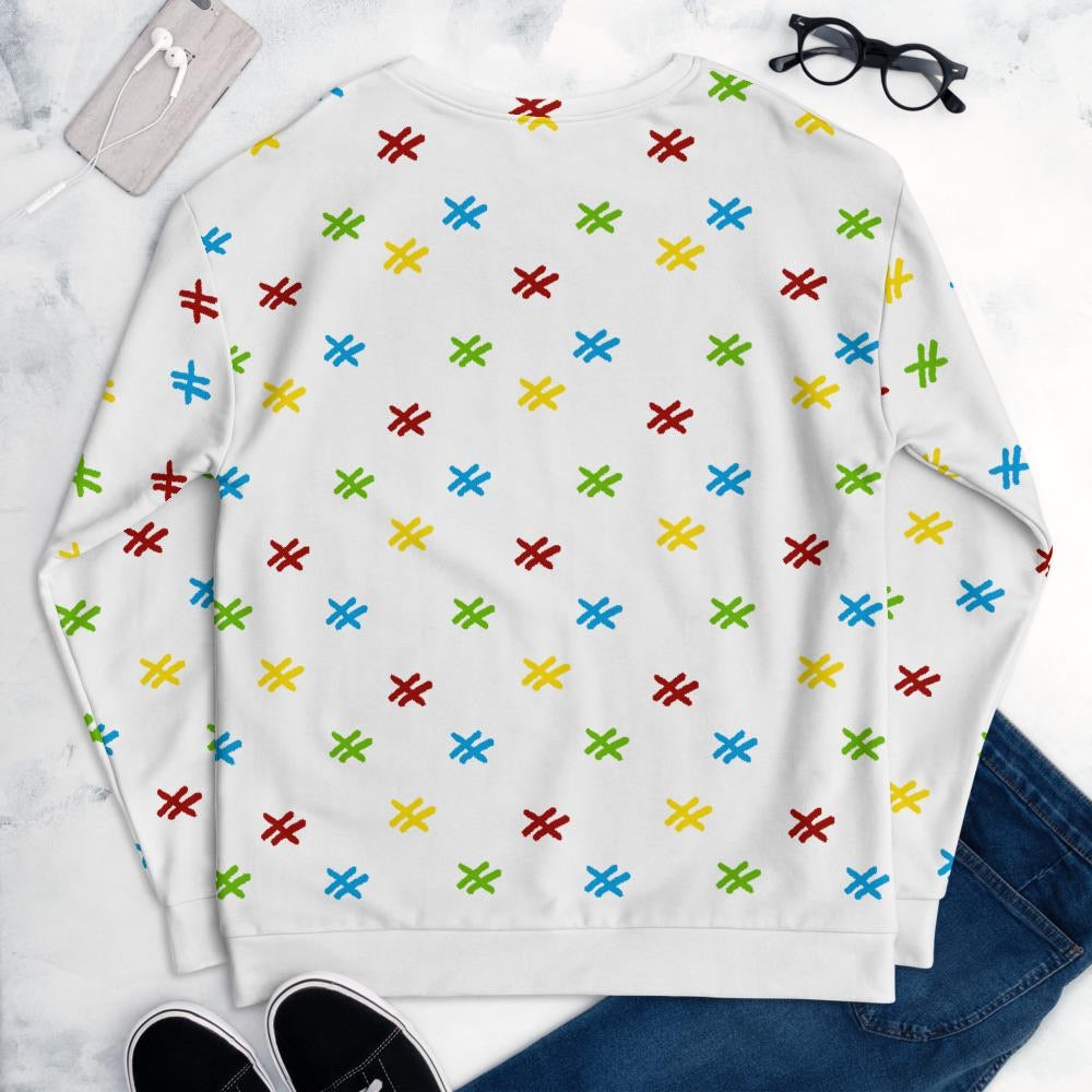 "Womens All Over Sweatshirt ""Video Game 2"""