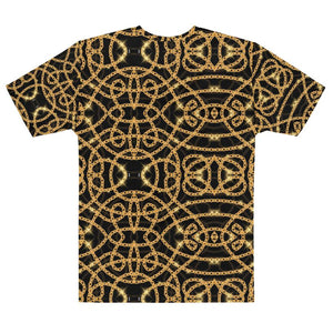 Gold Snake Chain Tee