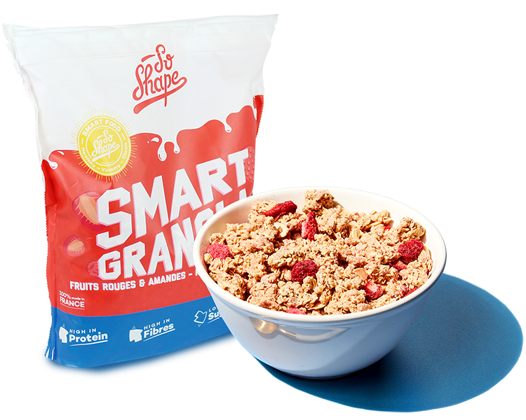Smart Granola Fruits Rouges