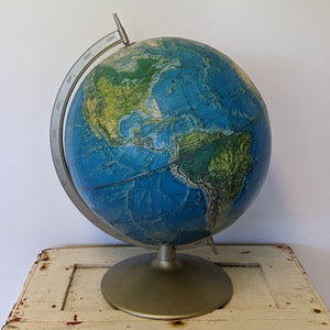 Educational globe on stand