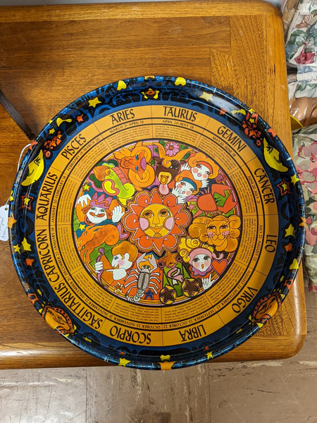 Cool Vintage Astrology Tray