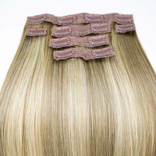 "Load image into Gallery viewer, Clip & Go Hair Extensions 18"" Long"