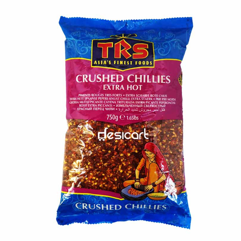 TRS CHILLIES CRUSHED EX-HOT 750G