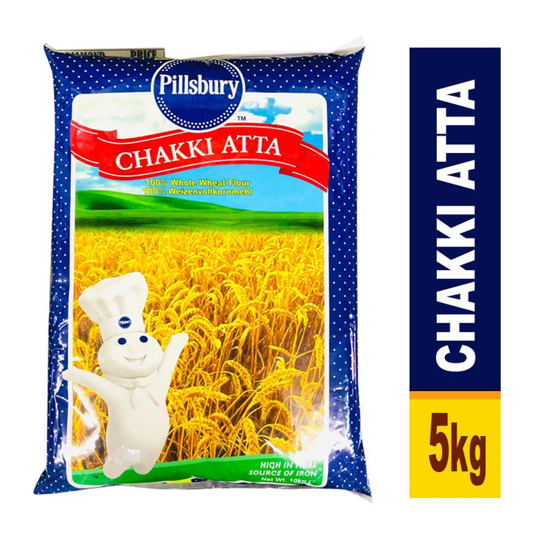 PILLSBURY CHAKKI ATTA (EXPORT PACK) 5KG