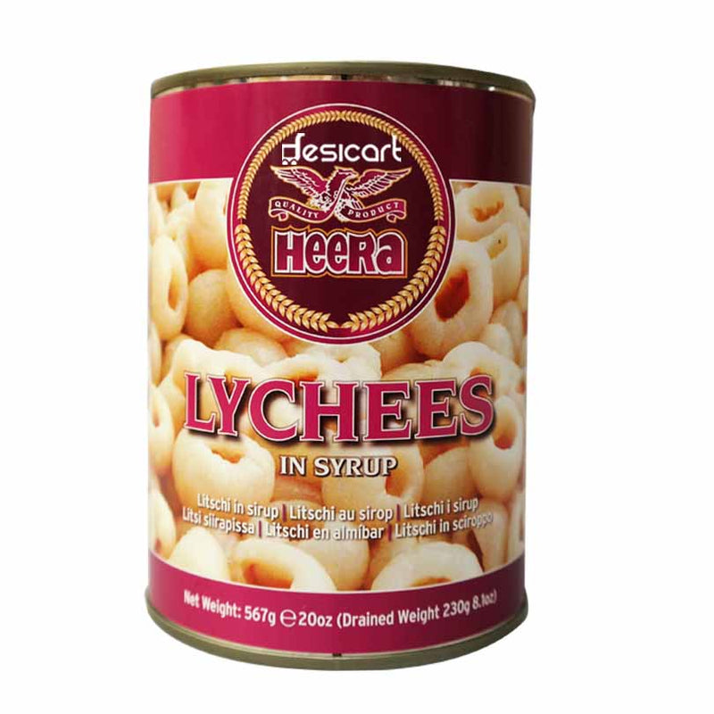 HEERA LYCHEES IN SYRUP 425G