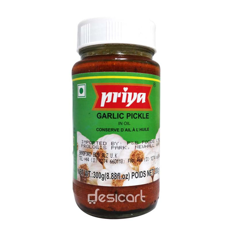 PRIYA GARLIC PICKLE 300G
