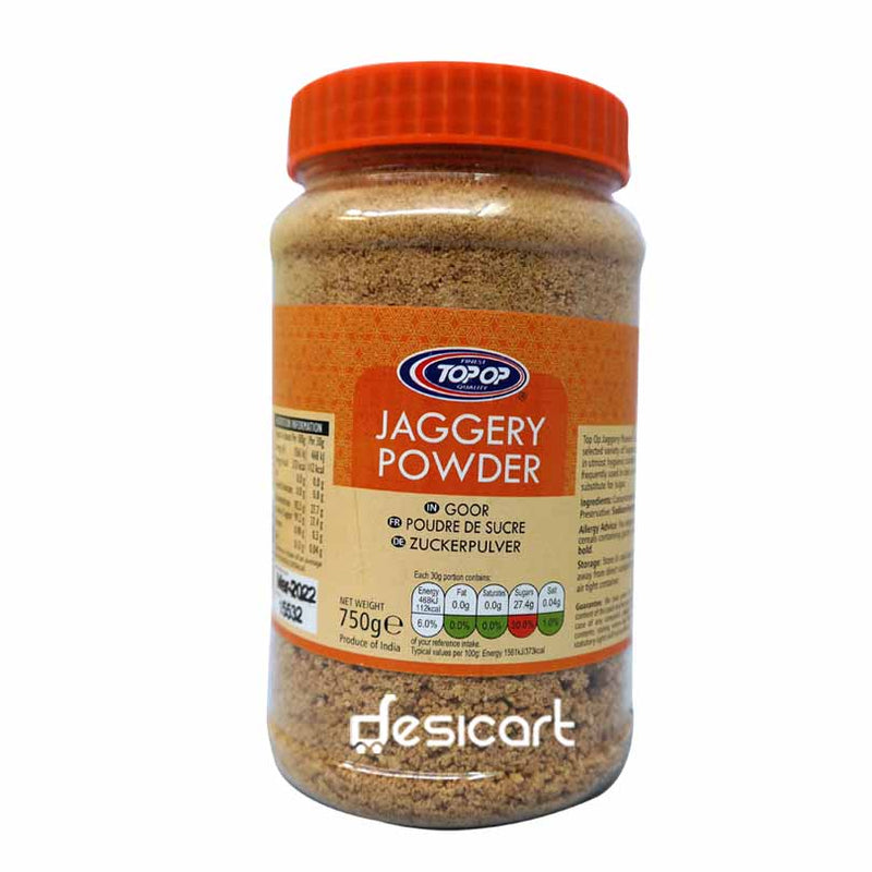 TOP OP JAGGERY POWDER 750G