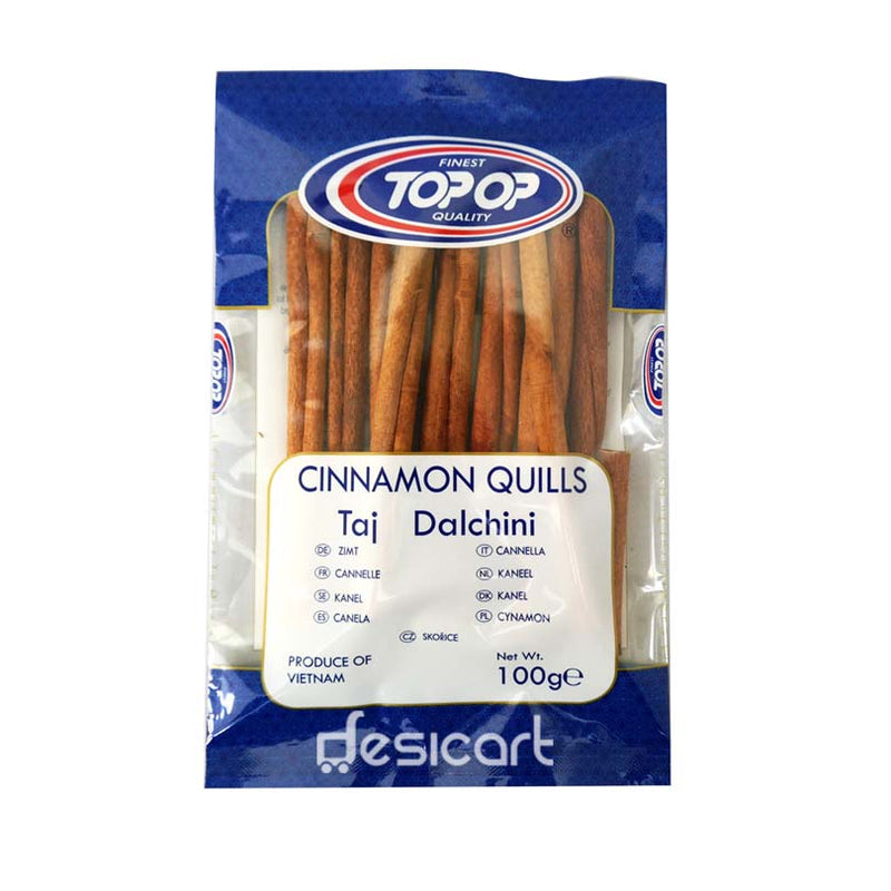 TOP OP CINNAMON QUILLS 100G