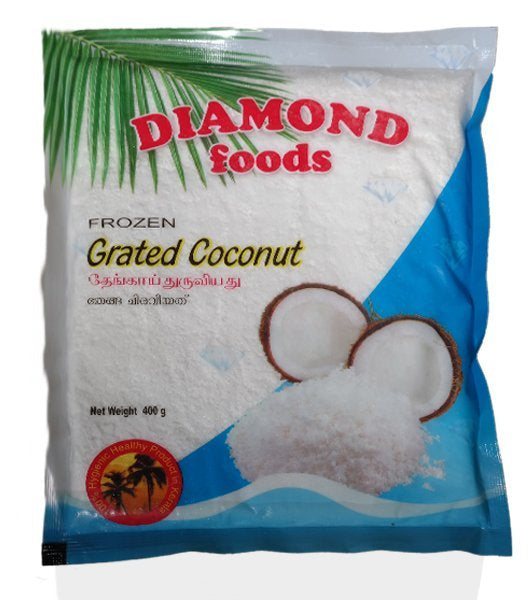 DIAMOND GRATED COCONUT 400G