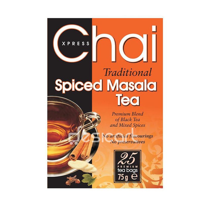 CHAI EXPRESS SPICED MASALA TEA-25Bags