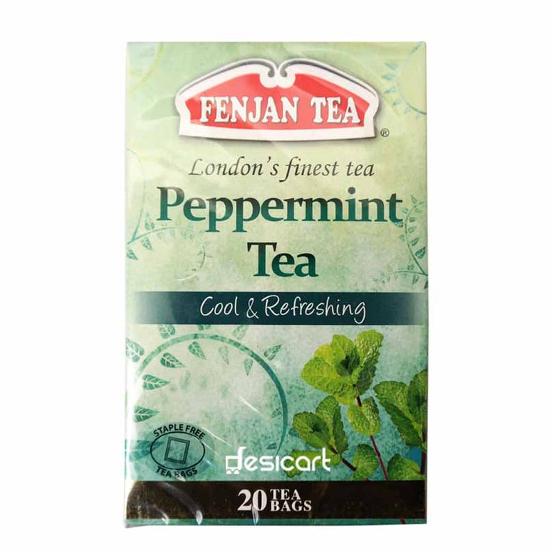 FENJAN TEA PEPPERMINT TEA 20'S