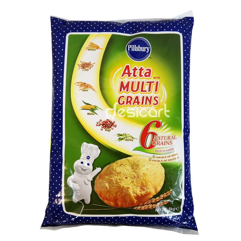 PILLSBURY MULTIGRAIN ATTA (EXPORT PACK) 5KG