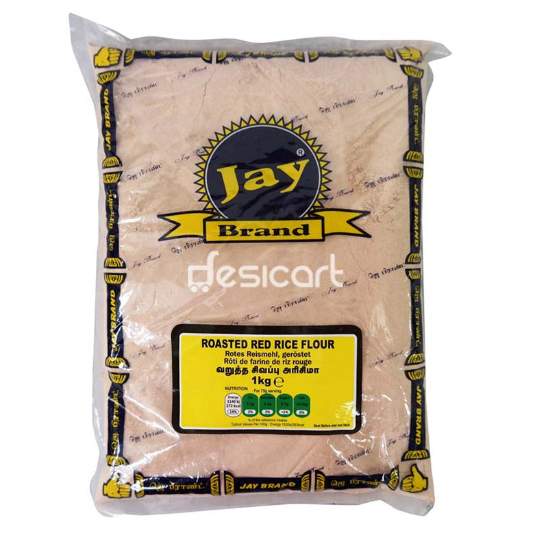 JAY BRAND ROASTED RED RICE FLOUR 1KG