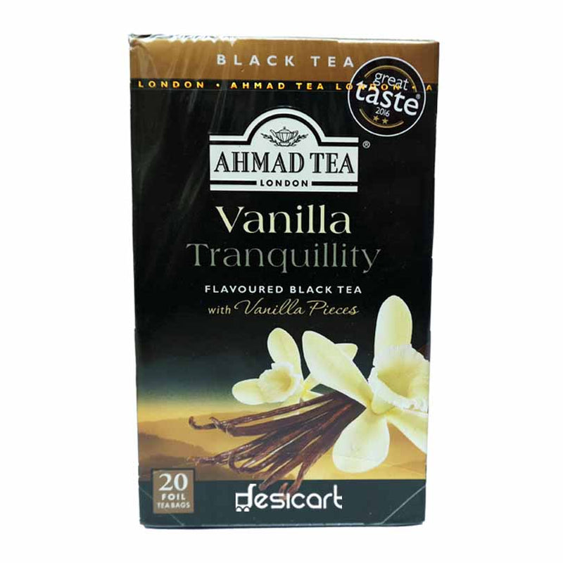 AHMAD FRUITY VANILA TEA 20 BAG