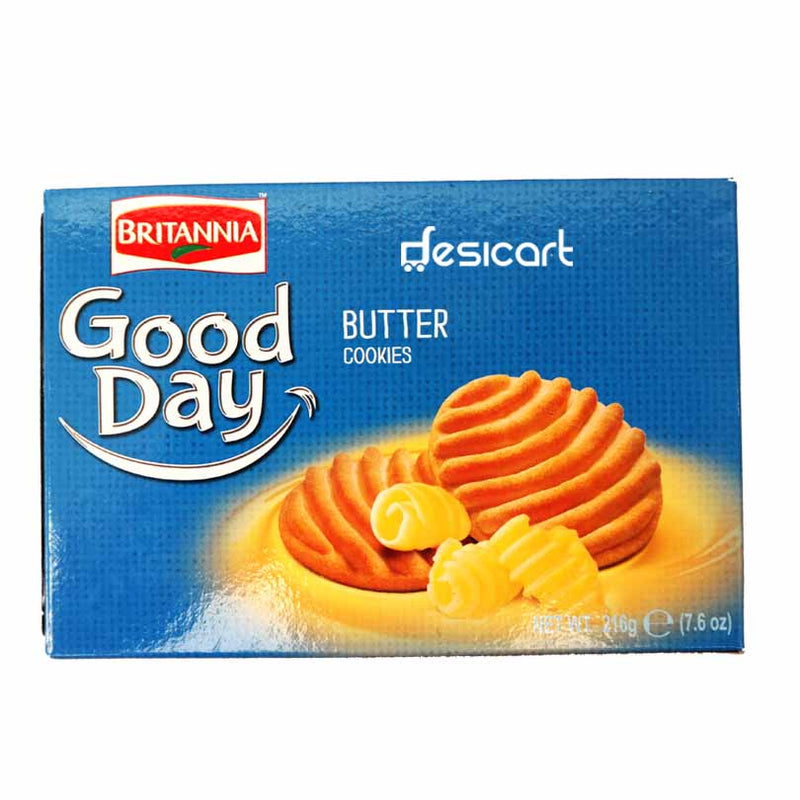 BRITANNIA GOOD DAY BUTTER COOKIES 216G