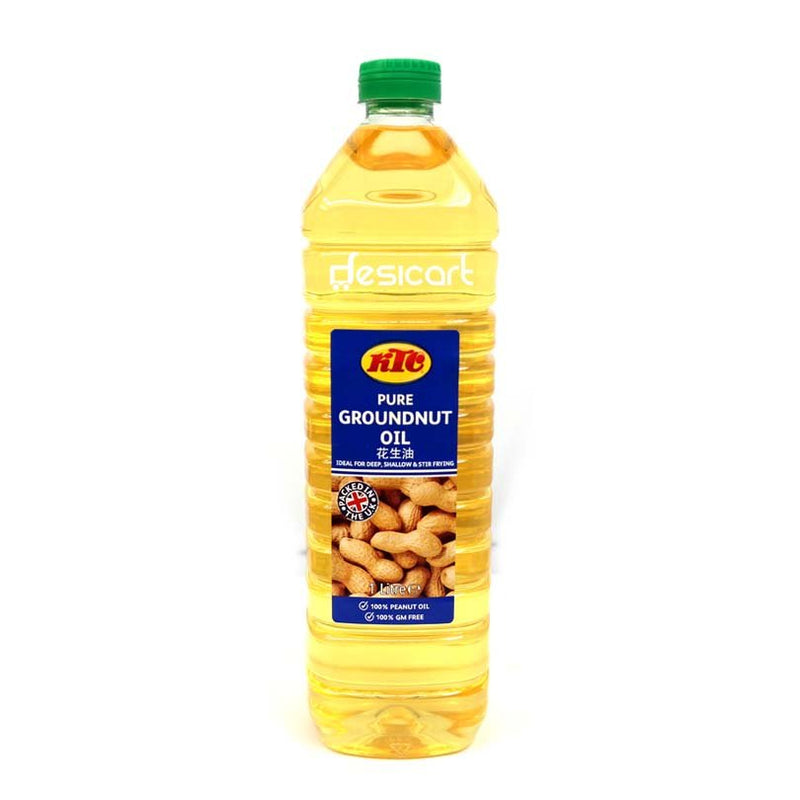 KTC GROUNDNUT OIL 1LTR