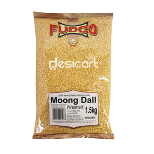 FUDCO MOONG DALL WASHED 1.5Kg
