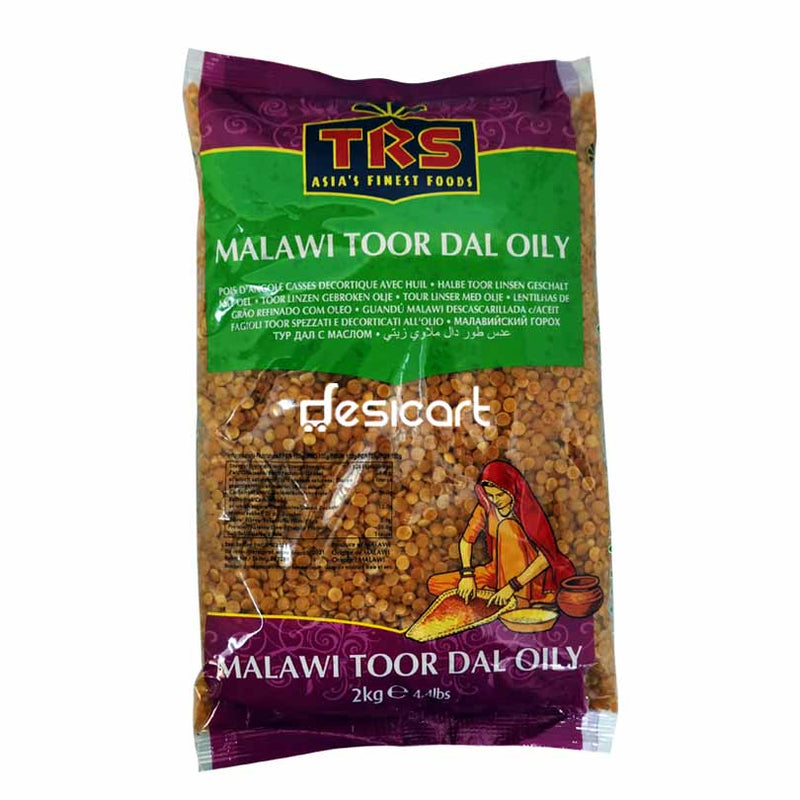 TRS MALAWI TOOR DALL OILY 2KG