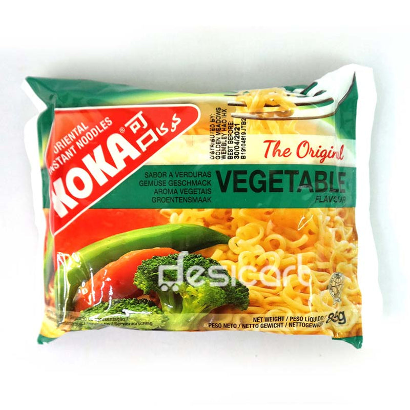 KOKA VEGETABLE FLAVOUR INSTANT NOODLES 85G