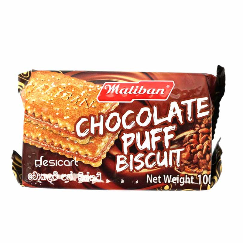 MALIBAN CHOCOLATE PUFF 100G