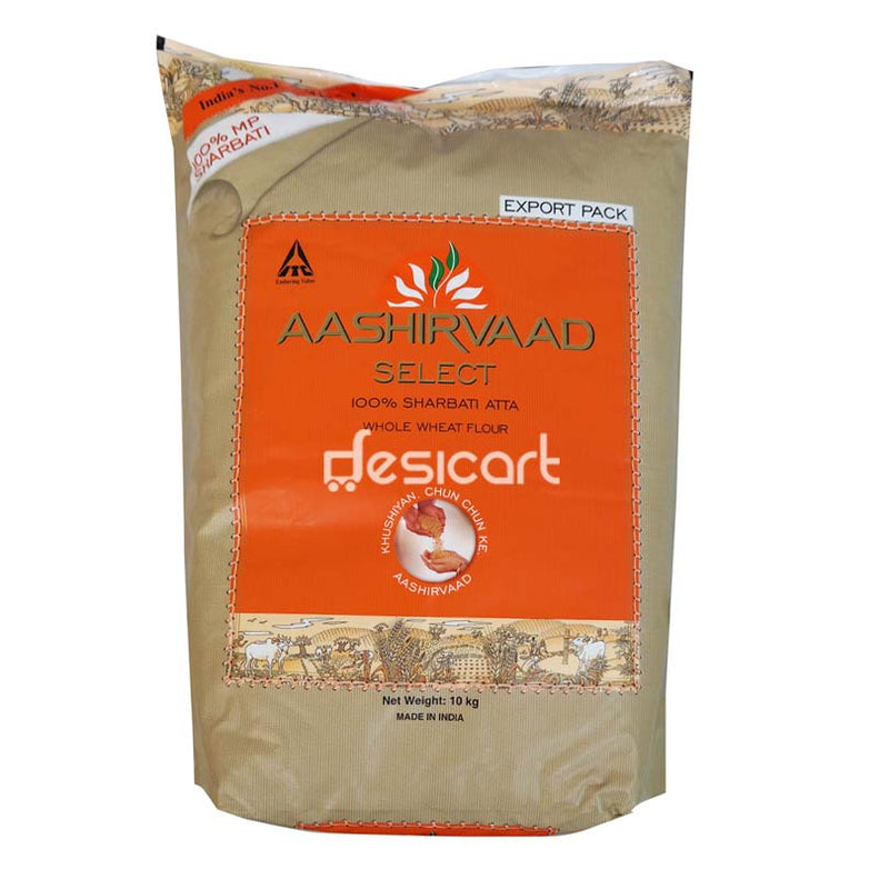 AASHIRVAAD SELECT ATTA (EXPORT PACK) 10KG