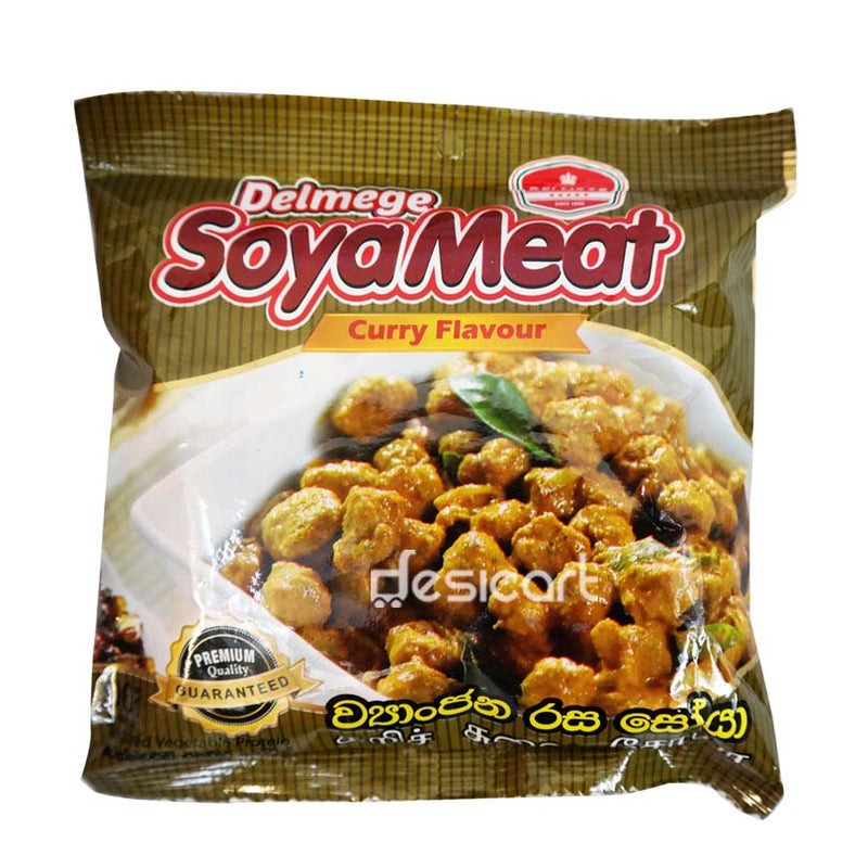 DELMEGE SOYAMEAT CURRY FLAVOUR 90G