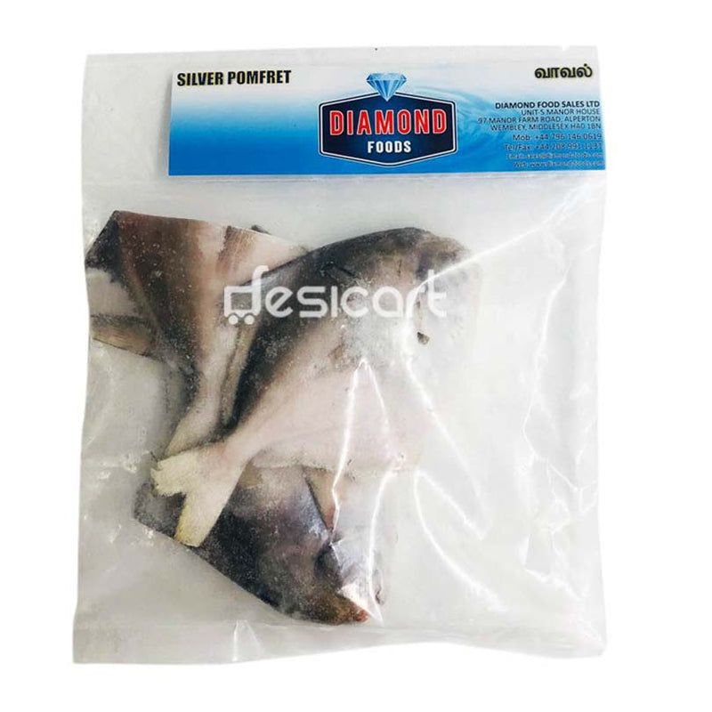 DIAMOND SILVER POMFRET WHOLE 500G