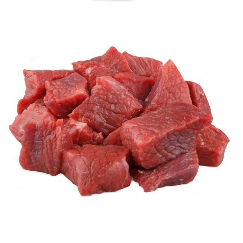 FRESH 100% HALAL DICED BONELESS MUTTON 1KG