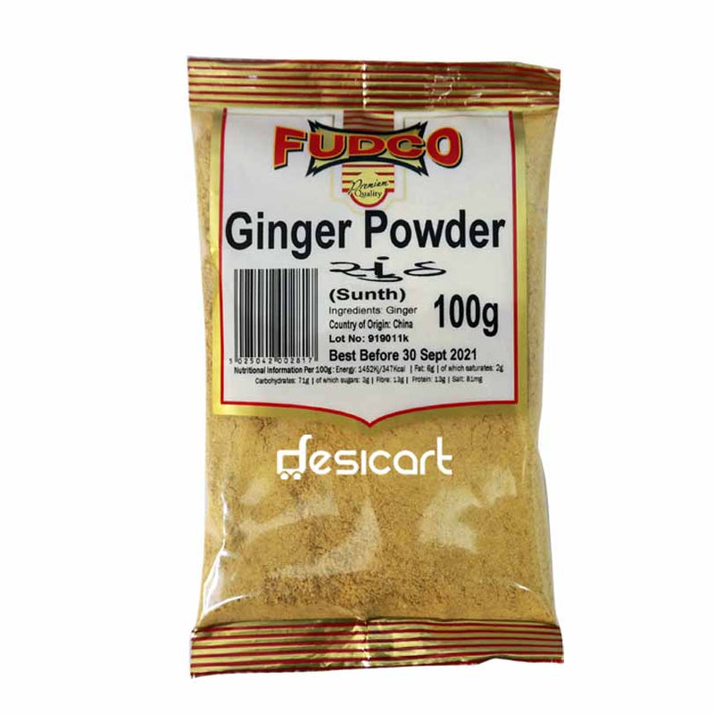 FUDCO GINGER POWDER 100G