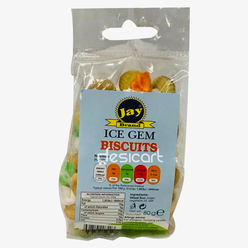 JAY BRAND ICE GEM BISCUIT 80G