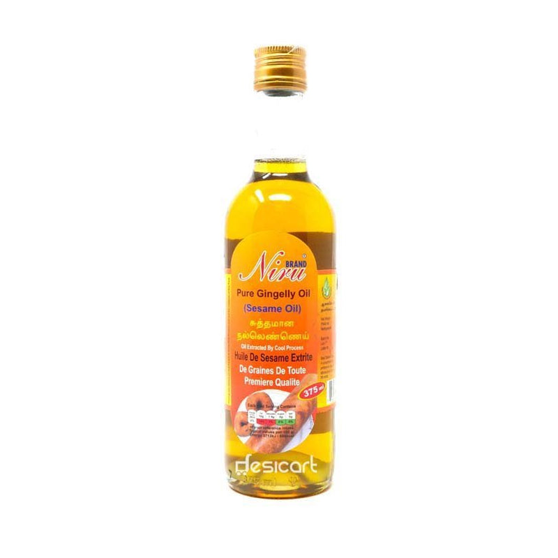 NIRU GINGELLY OIL 375ML