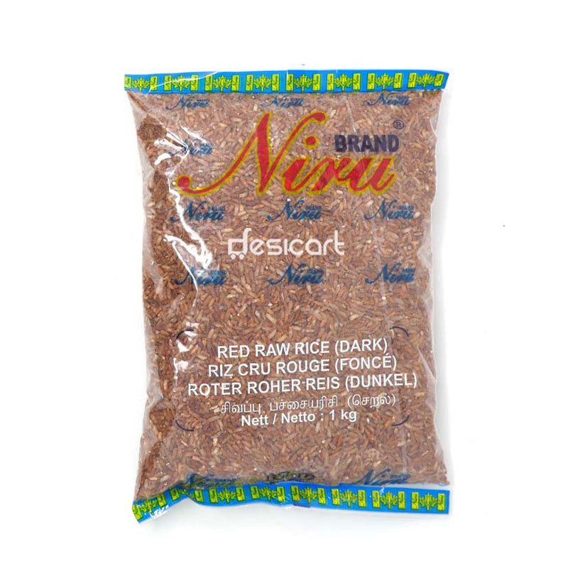NIRU RED RAW RICE DARK 1KG