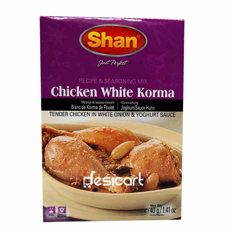SHAN MIX CHICKEN WHITE KORMA 40g
