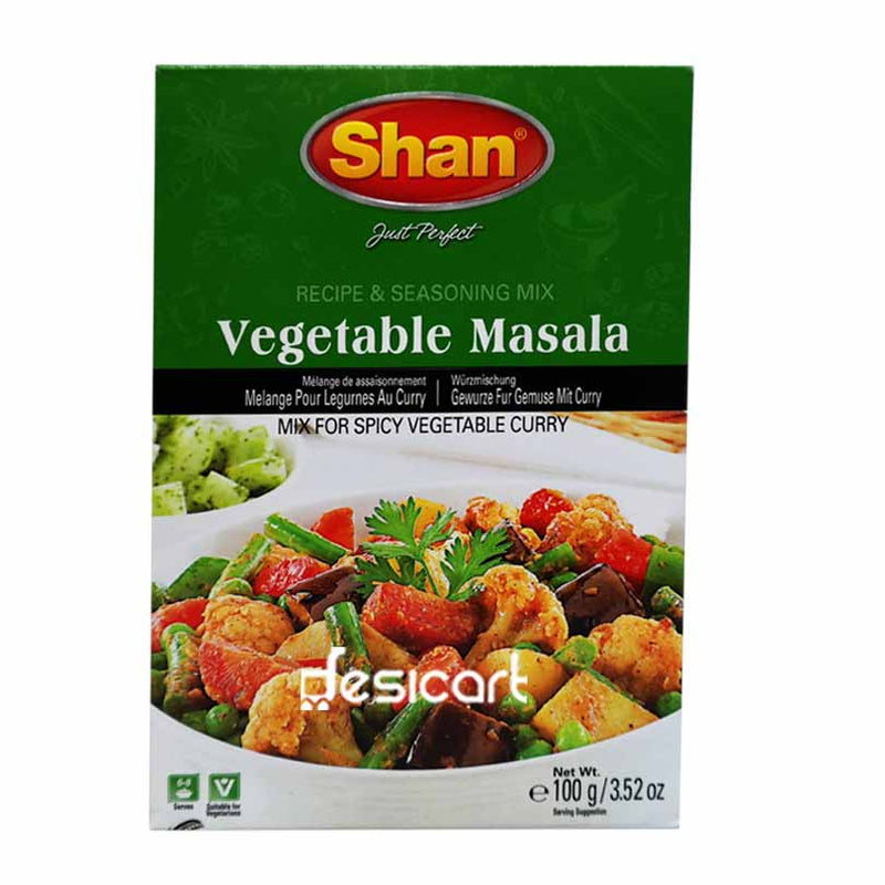 SHAN MIX VEGETABLE CURRY 100g