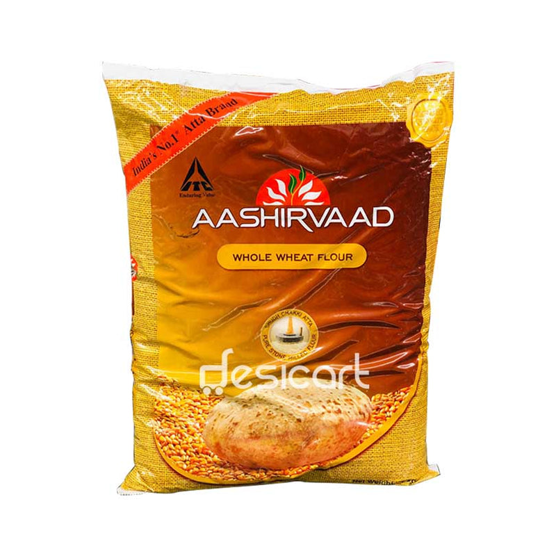 AASHIRVAAD WHEAT ATTA (EXPORT PACK) 5KG