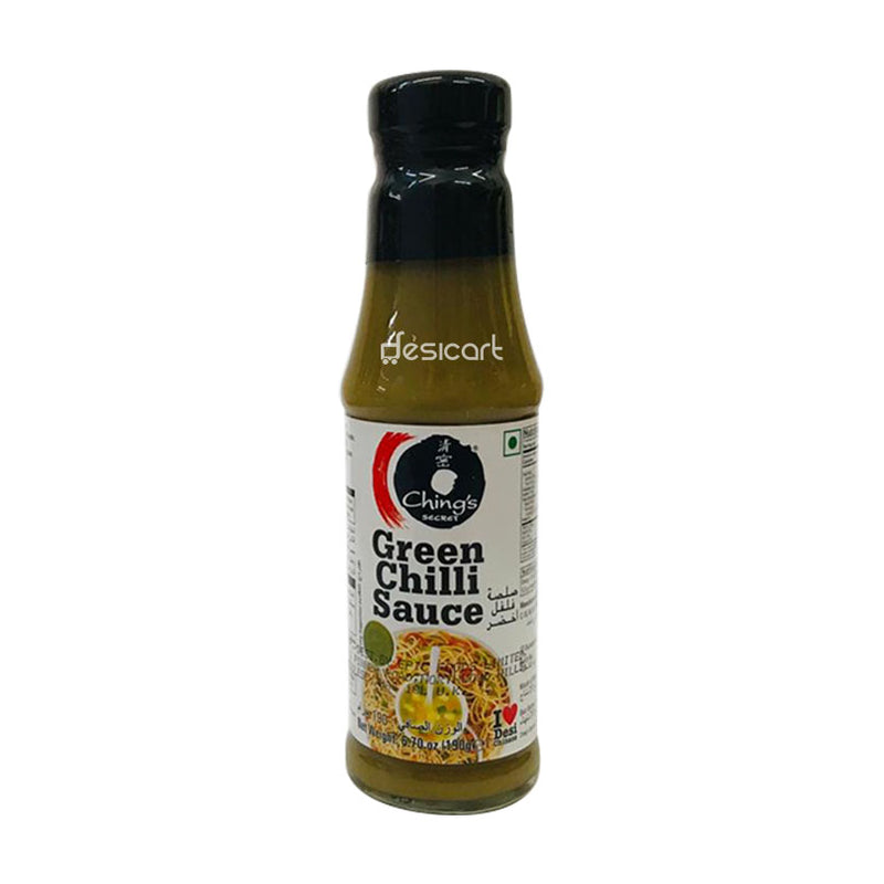 CHINGS GREEN CHILLI SAUCE 190G