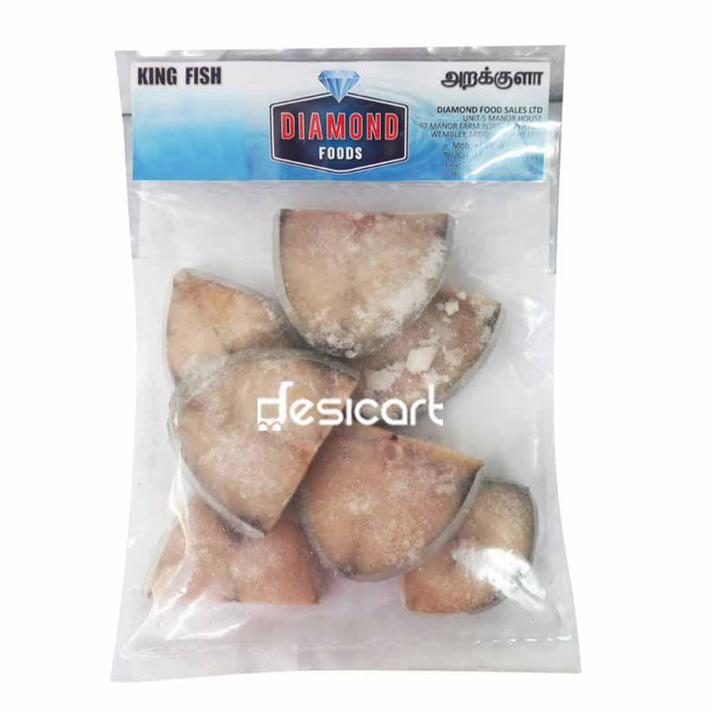 DIAMOND KING FISH STEAKS 500G