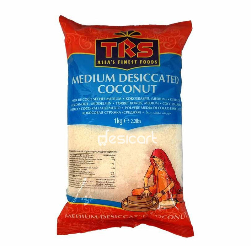 TRS DESSICATED COCONUT MEDIUM 1KG