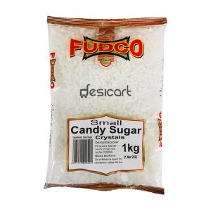 FUDCO CANDY SUGAR CRYSTAL SMALL 1KG