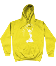 Load image into Gallery viewer, Anastarzia Anaquway - Stardust x HoneyB White Logo Hoodie