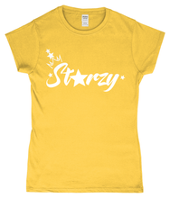 Load image into Gallery viewer, Anastarzia Anaquway - Starzy White Logo Ladies T-Shirt