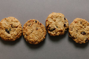 Cranberry and Oat Cookie