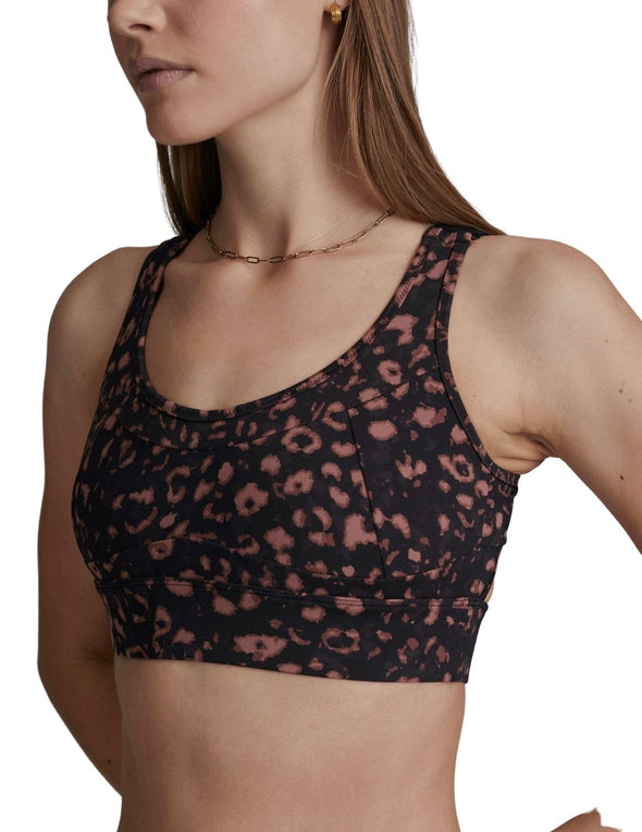 Edris Bra - Red Textured Animal