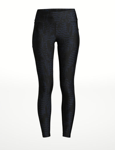 Iconic Leggings - Metallic Blue
